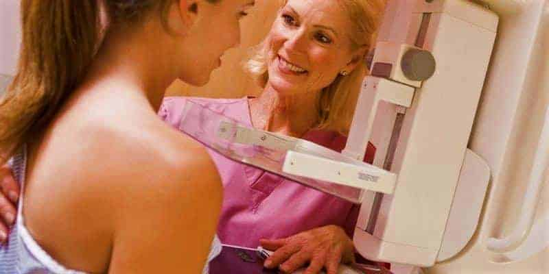 Gambar Tes Payudara Mamografi (Tes Mamografi) untuk Deteksi Dini Kanker Payudara