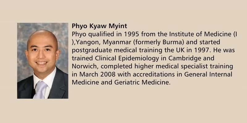 Penelitian Dr. Phyo K. Myint