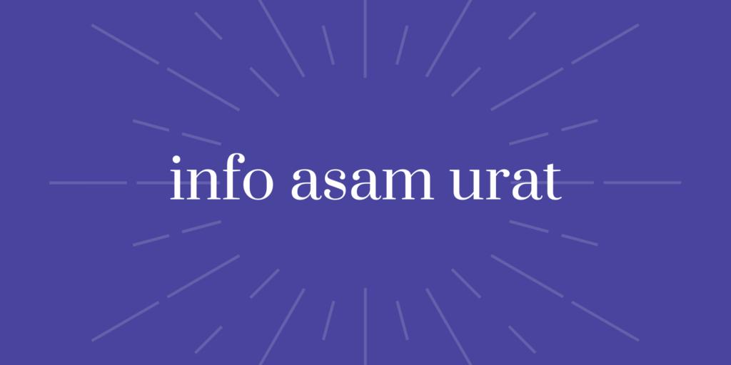 penyakit asam urat (uric acid) atau encok pada anak (remaja) pria (laki-laki), wanita (perempuan), maupun lansia (orang tua)