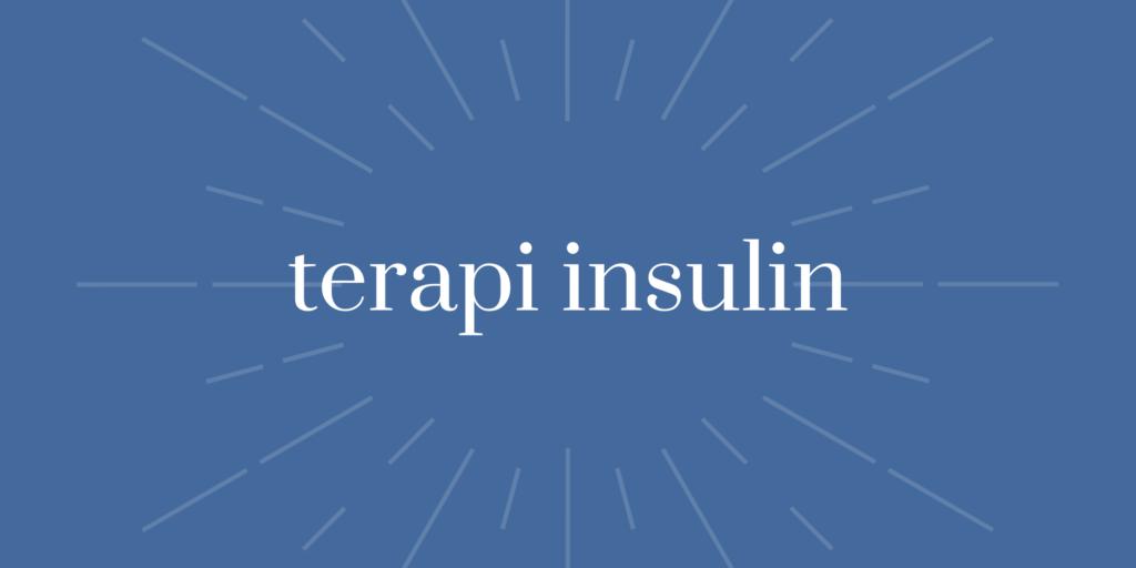 Terapi Insulin
