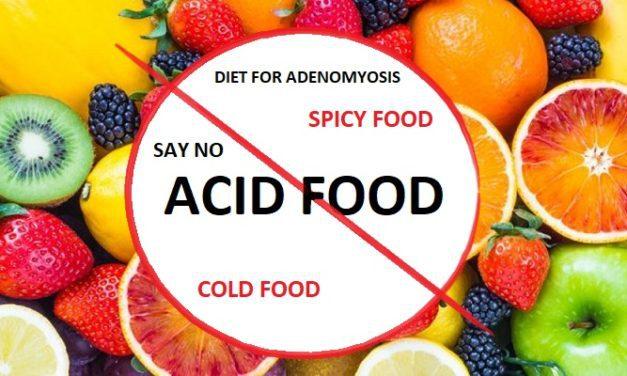 Pantangan Makanan Penyakit Adenomiosis