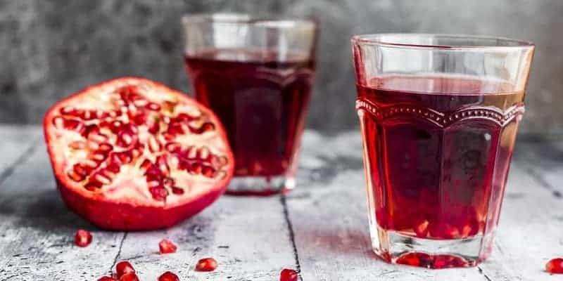 buah delima untuk resep herbal sariawan