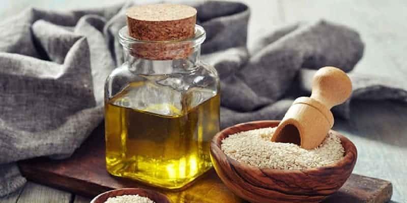 ramuan herbal luka tersiram air panas dengan minyak wijen