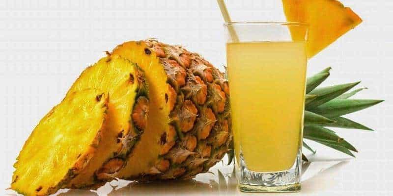 nanas untuk resep herbal beri-beri