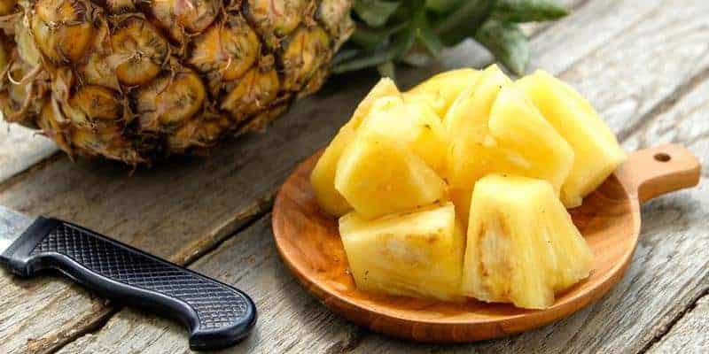 buah nanas untuk resep herbal ketombe