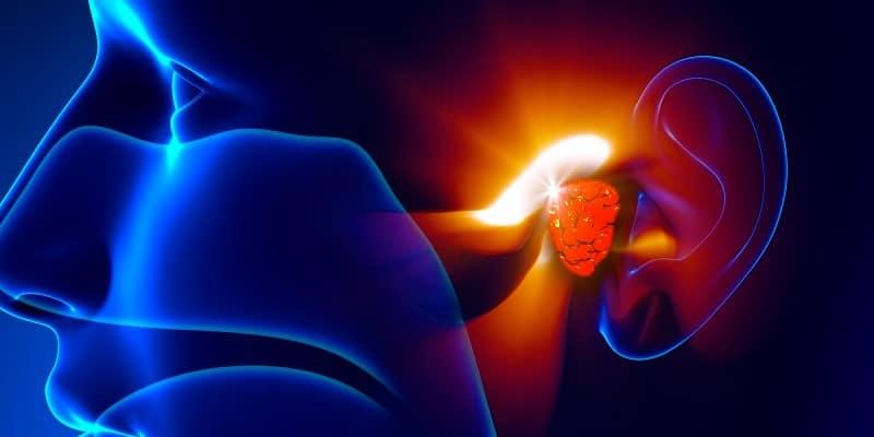 ilustrasi kanker telinga