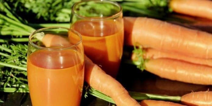 cara membuat jus wortel untuk kanker
