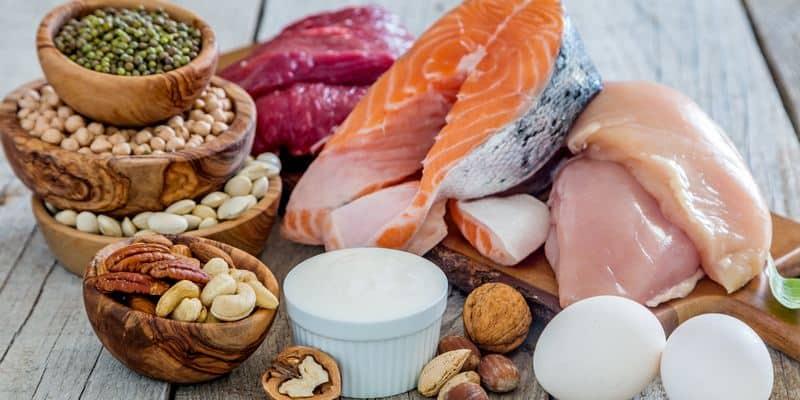 makanan protein tanpa lemak untuk kanker usus