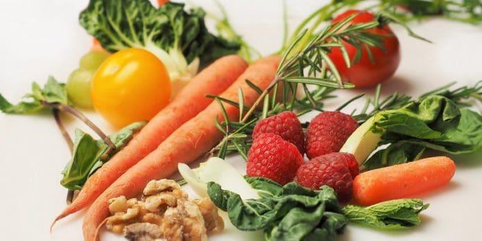 Ilustrasi Makanan Sumber Antioksidan