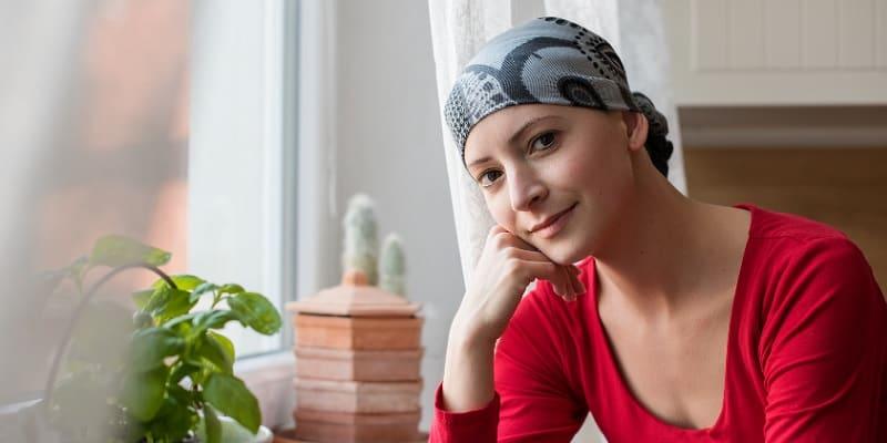 Ilustrasi Penderita Kanker pada Wanita