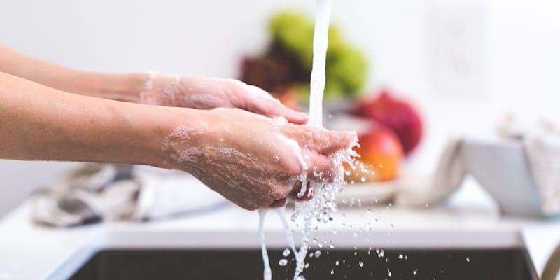 Pencegahan Virus Corona dengan Cuci Tangan